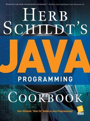 cover image of Herb Schildt's Java Programming Cookbook