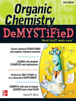 cover image of Organic Chemistry Demystified