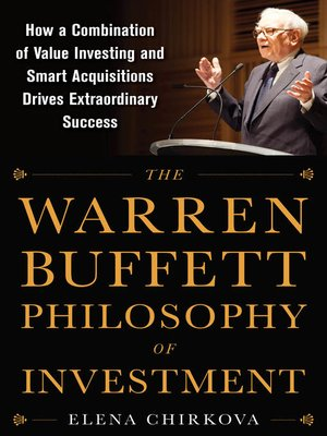 cover image of The Warren Buffett Philosophy of Investment
