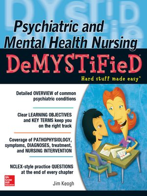 cover image of Psychiatric and Mental Health Nursing Demystified