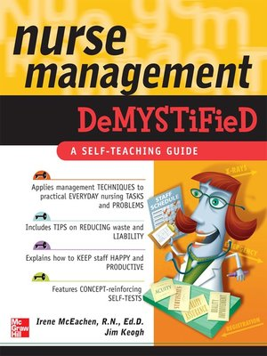 cover image of Nurse Management Demystified