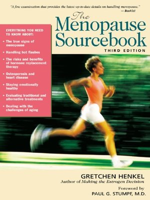 cover image of The Menopause Sourcebook
