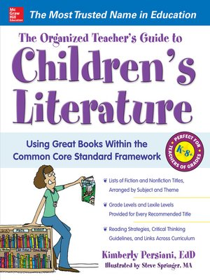 cover image of The Organized Teacher's Guide to Children's Literature
