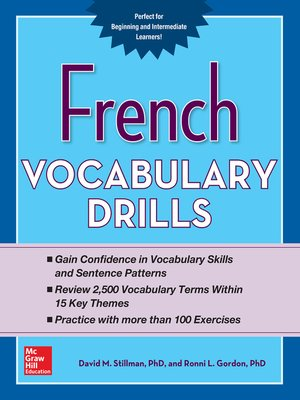cover image of French Vocabulary Drills
