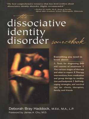 cover image of The Dissociative Identity Disorder Sourcebook
