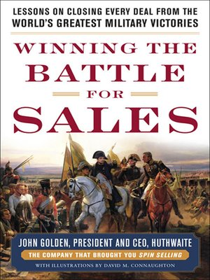 cover image of Winning the Battle for Sales