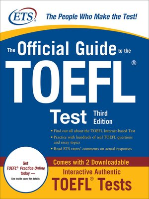 cover image of The Official Guide to the TOEFL® Test