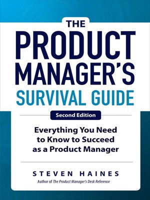 cover image of The Product Manager's Survival Guide