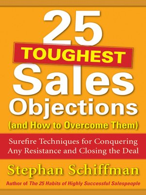 cover image of 25 Toughest Sales Objections-and How to Overcome Them