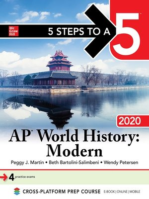 cover image of 5 Steps to a 5: AP World History, Modern 2020
