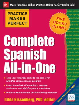 cover image of Practice Makes Perfect Complete Spanish All-in-One