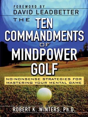 cover image of The Ten Commandments of Mindpower Golf