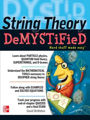 cover image of String Theory Demystified