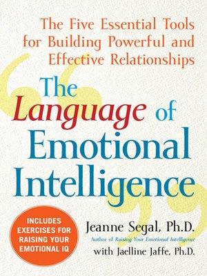 cover image of The Language of Emotional Intelligence