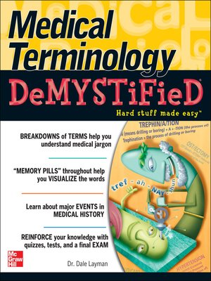 cover image of Medical Terminology Demystified