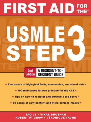cover image of First Aid for the® USMLE Step 3