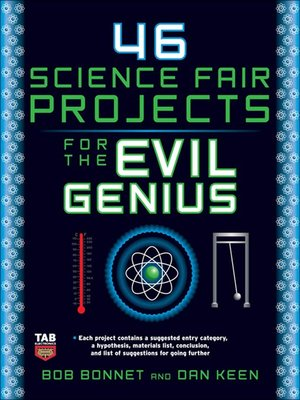 cover image of 46 Science Fair Projects for the Evil Genius