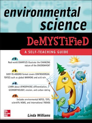 cover image of Environmental Science Demystified