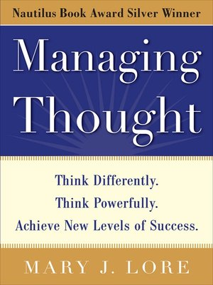 cover image of Managing Thought