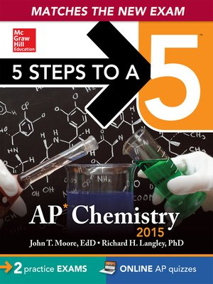cover image of 5 Steps to a 5 AP Chemistry, 2015 ed