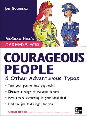 cover image of Careers for Courageous People & Other Adventurous Types