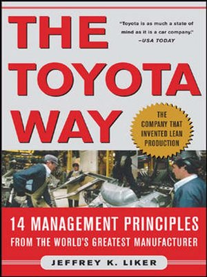 cover image of The Toyota Way