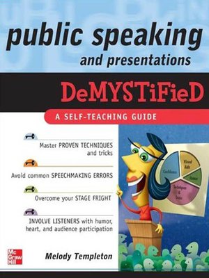 cover image of Public Speaking and Presentations Demystified