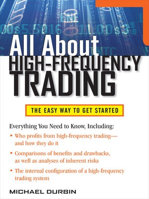 cover image of All About High-Frequency Trading