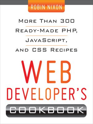 cover image of Web Developers Cookbook