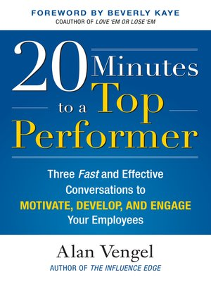cover image of 20 Minutes to a Top Performer