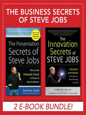 Presentation Secrets Steve Jobs Book