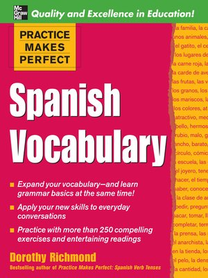 cover image of Spanish Vocabulary