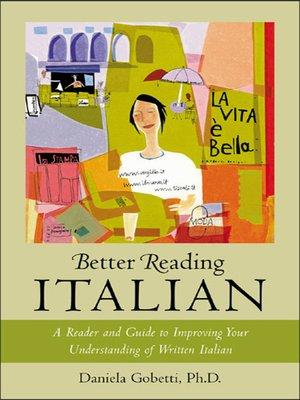 cover image of Better Reading Italian
