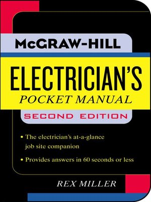 cover image of Electrician's Pocket Manual
