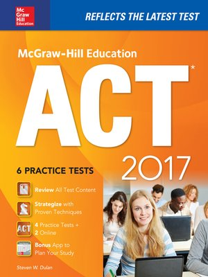 cover image of McGraw-Hill Education ACT 2017 Edition
