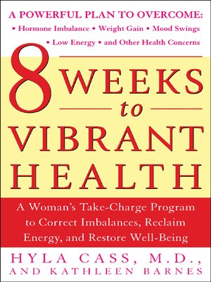 cover image of 8 Weeks to Vibrant Health