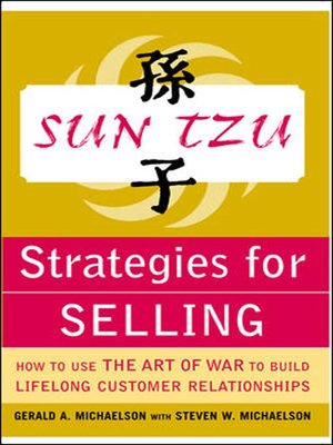 cover image of Sun Tzu Strategies for Selling