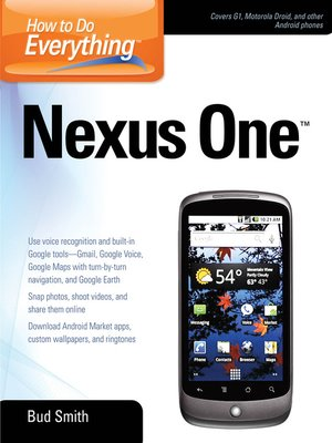 cover image of How to Do Everything Nexus One