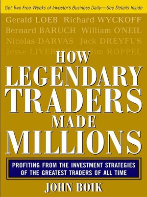 cover image of How Legendary Traders Made Millions