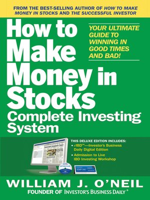 william o neil how to make money in stocks pdf