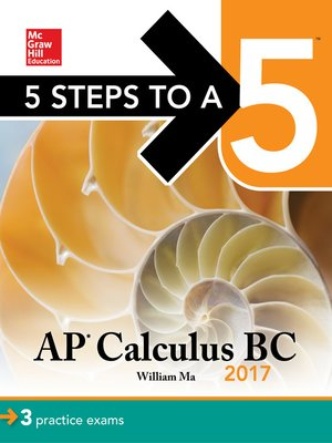 cover image of 5 Steps to a 5 AP Calculus BC 2017