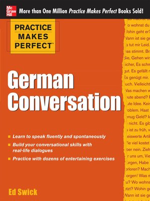 cover image of German Conversation