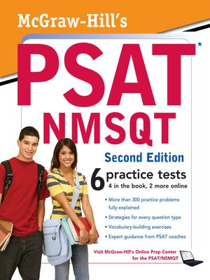 cover image of McGraw-Hill's PSAT/NMSQT