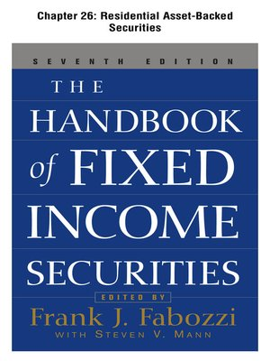cover image of Residential Asset-Backed Securities
