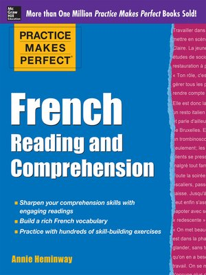 cover image of Practice Makes Perfect French Reading and Comprehension