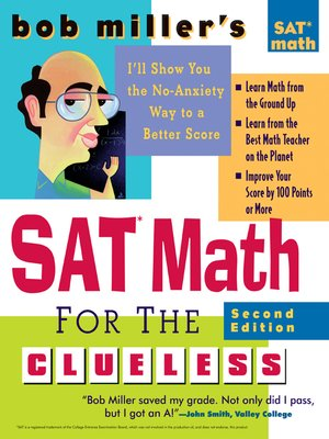 cover image of Bob Miller's SAT Math for the Clueless