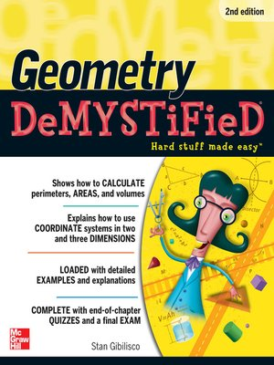 cover image of Geometry Demystified