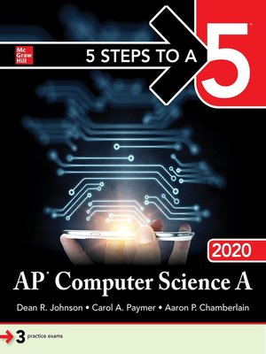 cover image of 5 Steps to a 5: AP Computer Science A 2020