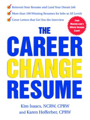 cover image of The Career Change Resume
