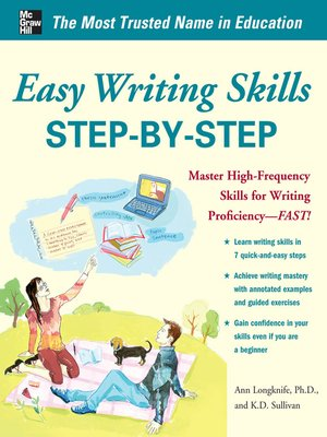 cover image of Easy Writing Skills Step-by-Step